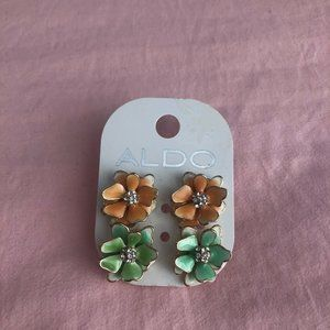 Free with $25 Purchase! Aldo Flower Earrings